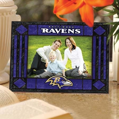 Baltimore Ravens Landscape Art Glass Picture Frame