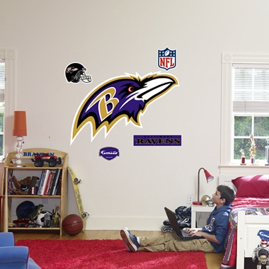 Baltimore Ravens Logo Fathead Wall Graphic