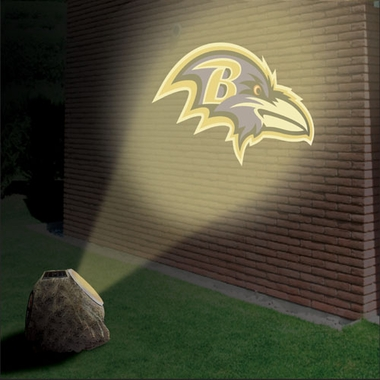 Baltimore Ravens Logo Projection Rock