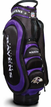 Baltimore Ravens Medalist Cart Bag