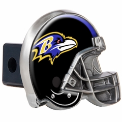 Baltimore Ravens Metal Helmet Trailer Hitch Cover