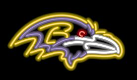 Baltimore Ravens Neon Light