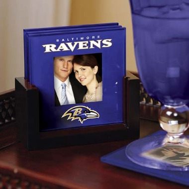 Baltimore Ravens Photo Coaster Set