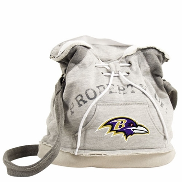 Baltimore Ravens Property of Hoody Duffle