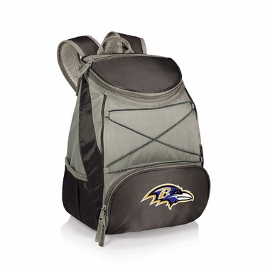 Baltimore Ravens PTX Backpack Cooler (Black)