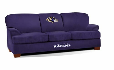 Baltimore Ravens First Team Sofa