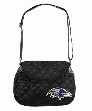 Baltimore Ravens Quilted Saddlebag
