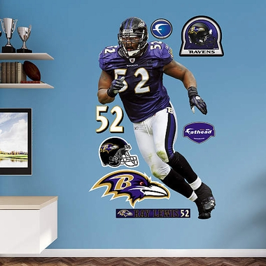 Baltimore Ravens Ray Lewis - Series 2 Fathead Wall Graphic