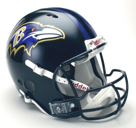 Baltimore Ravens Riddell Full Size Authentic Revolution Helmet