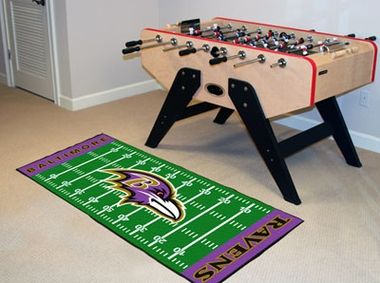 Baltimore Ravens Runner Rug