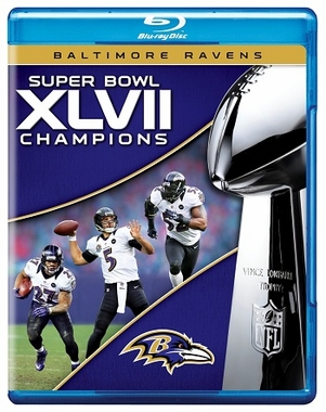 Baltimore Ravens S.B. 47 Champs Blu-Ray DVD