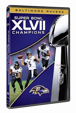 Baltimore Ravens S.B. 47 Champs DVD