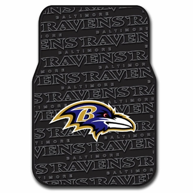 Baltimore Ravens Set of Rubber Floor Mats