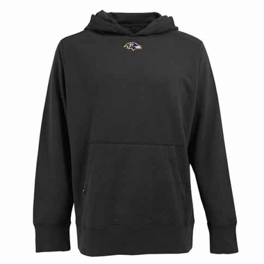 Baltimore Ravens Mens Signature Hooded Sweatshirt (Alternate Color: Black)
