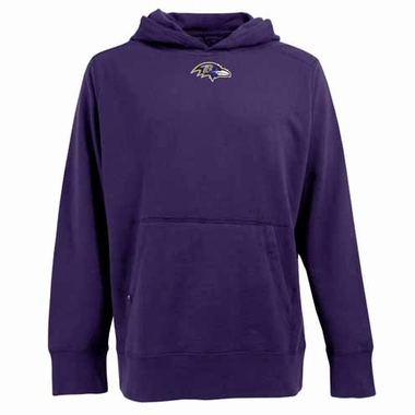 Baltimore Ravens Mens Signature Hooded Sweatshirt (Team Color: Purple)