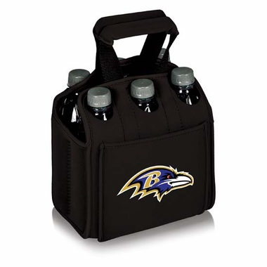 Baltimore Ravens Six Pack (Black)