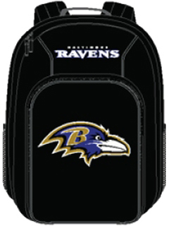 Baltimore Ravens Southpaw Youth Backpack
