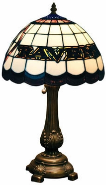Baltimore Ravens Stained Glass Table Lamp