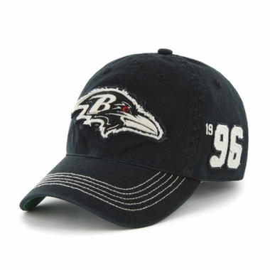 Baltimore Ravens Throwback Badger Franchise Flex Fit Hat