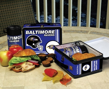 Baltimore Ravens Tin Lunch Box