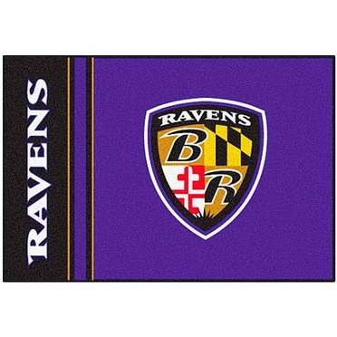 Baltimore Ravens Uniform Inspired 20 x 30 Rug