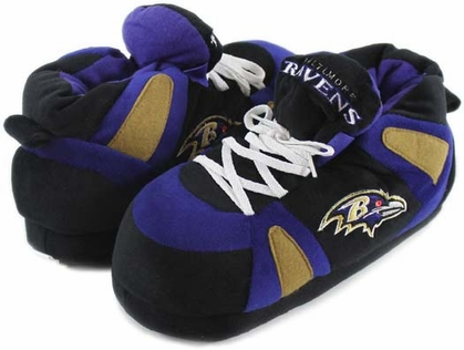 Baltimore Ravens UNISEX High-Top Slippers