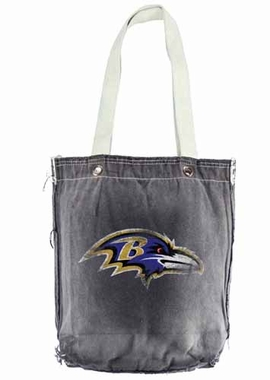 Baltimore Ravens Vintage Shopper (Black)