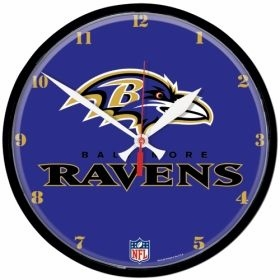 Baltimore Ravens Wall Clock