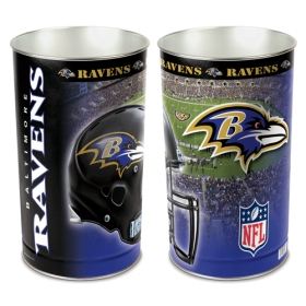 Baltimore Ravens Waste Paper Basket
