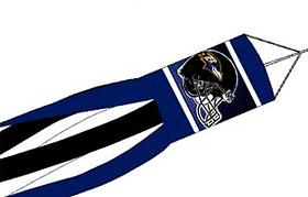"Baltimore Ravens 57"" Windsock"