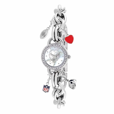 Baltimore Ravens Women's Charm Watch