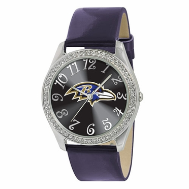Baltimore Ravens Women's Glitz Watch