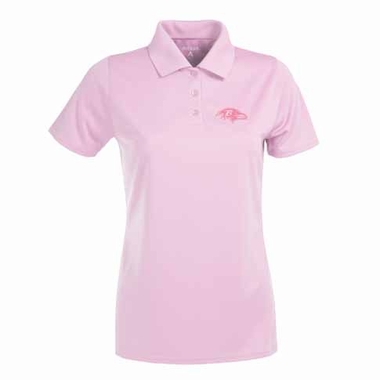 Baltimore Ravens Womens Exceed Polo (Color: Pink)