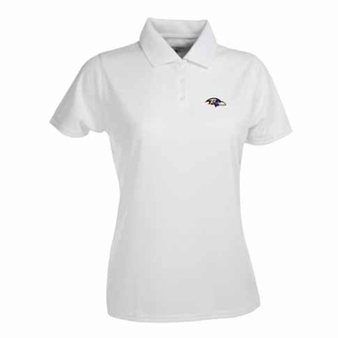 Baltimore Ravens Womens Exceed Polo (Color: White)