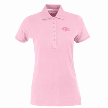 Baltimore Ravens Womens Spark Polo (Color: Pink)