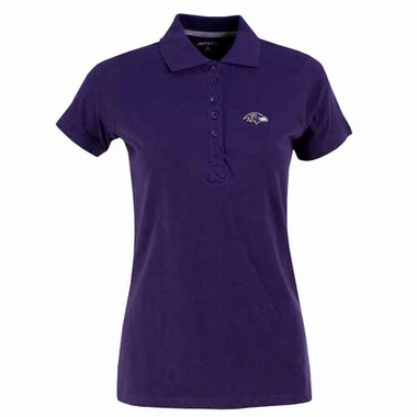 Baltimore Ravens Womens Spark Polo (Team Color: Purple)