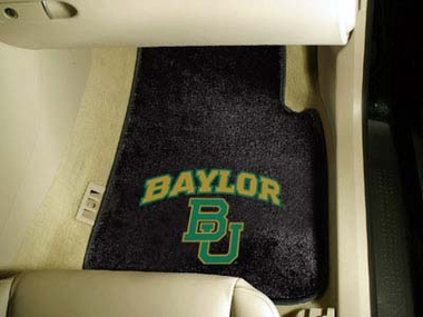 Baylor 2 Piece Car Mats