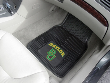 Baylor 2 Piece Heavy Duty Vinyl Car Mats