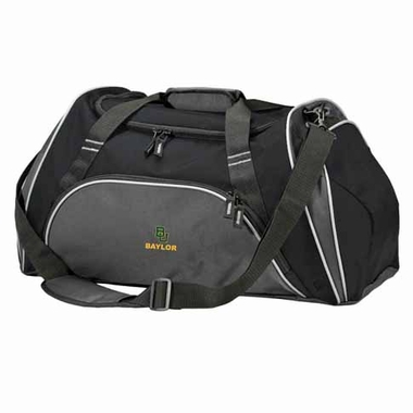 Baylor Action Duffle (Color: Black)