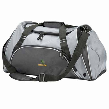 Baylor Action Duffle (Color: Grey)