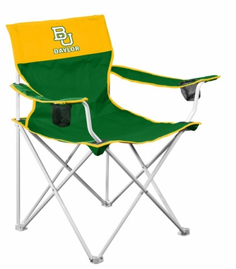 Baylor Big Boy Adult Folding Logo Chair