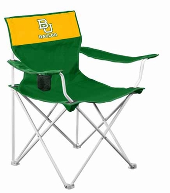 Baylor Canvas Adult Folding Logo Chair