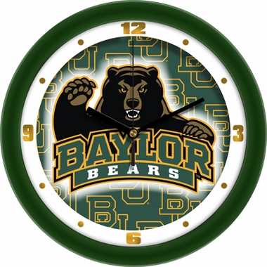 Baylor Dimension Wall Clock