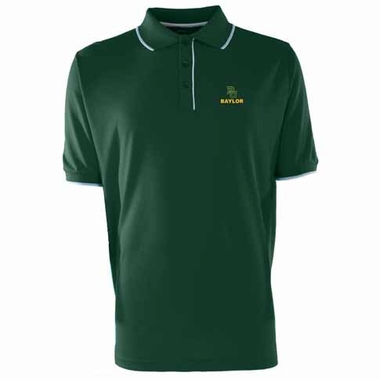 Baylor Mens Elite Polo Shirt (Color: Green)