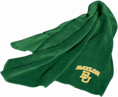 Baylor Fleece Throw Blanket