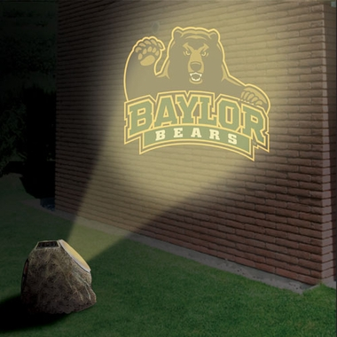 Baylor Logo Projection Rock