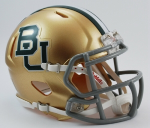 Baylor Mini Replica Helmet
