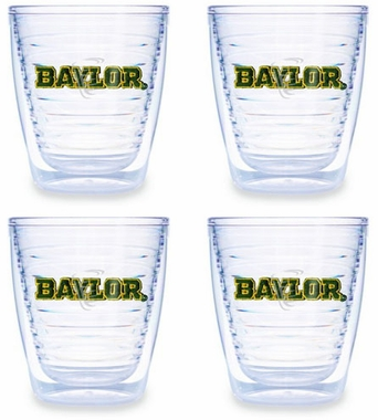 Baylor Set of FOUR 12 oz. Tervis Tumblers
