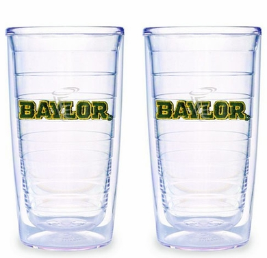 Baylor Set of TWO 16 oz. Tervis Tumblers