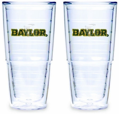 Baylor Set of TWO 24 oz. Tervis Tumblers